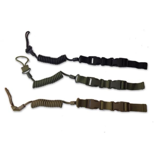 SKYLL Elastic Tactical Safety Lanyard