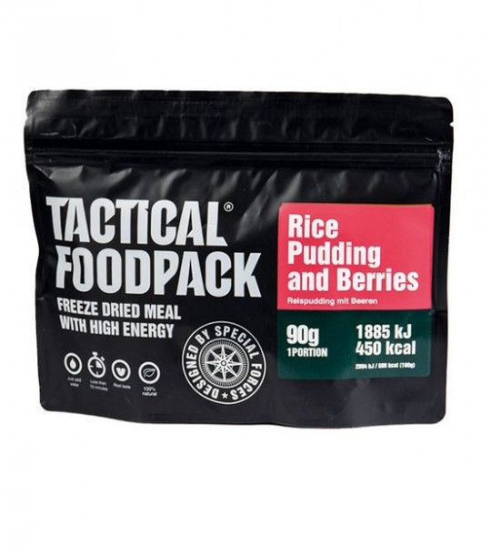 Tactical Foodpack Rice Pudding and Berries