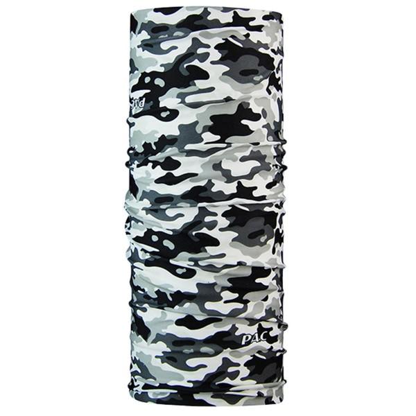 P.A.C. Multifunktionstuch Halstuch Camouflage schwarz/weiß