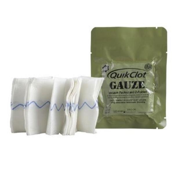 QuikClot Z-folded Gauze 7,6 cm x 3,65 m
