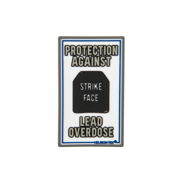 "Helikon Tex Rubberpatch ""Lead Overdose"" - 7,5 x 4,5 cm"