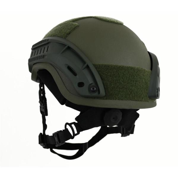 Zebra Helmbegurtung Pads mit BOA Verschluss für Gefechtshelme