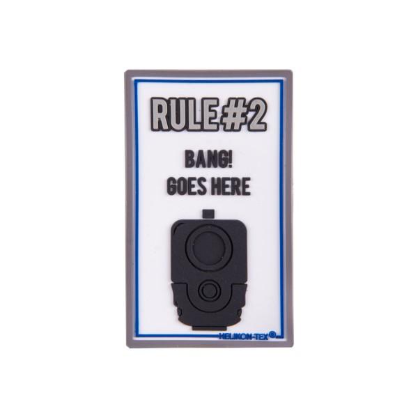 """Helikon Tex Rubberpatch """"Rule#2"""""""