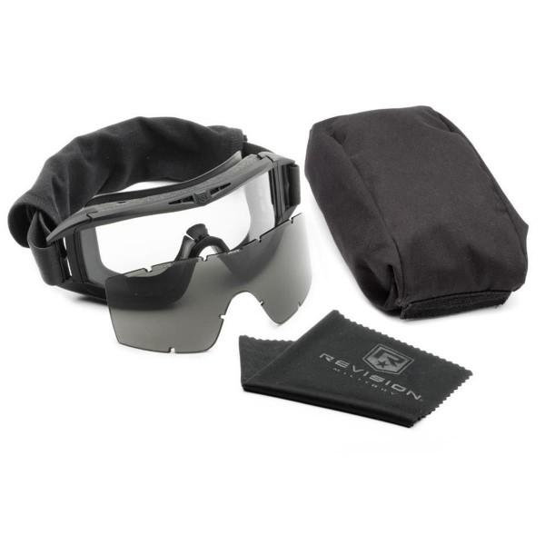 Revision ballistisches Vollschutzbrillensystem DESERT LOCUST Essential Kit