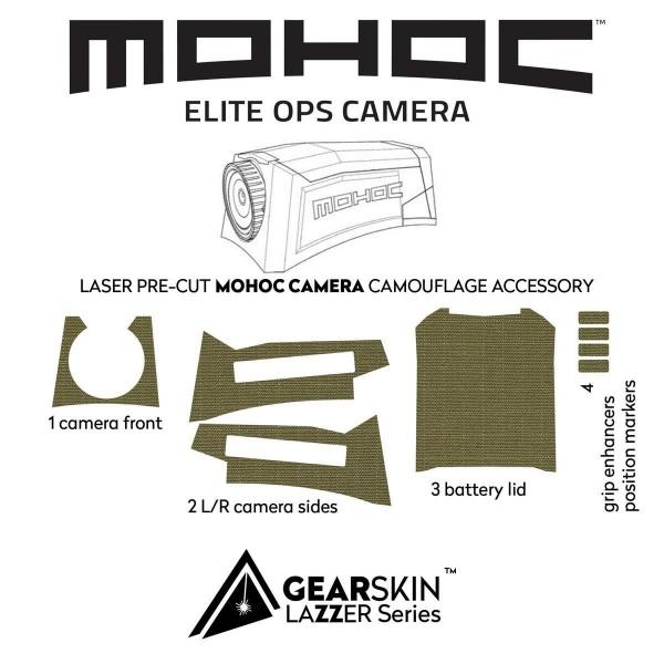 Gearskin Tarnfolie für Mohoc Combat Camera
