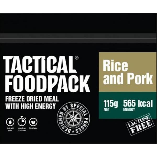 Tactical Foodpack Rice and Pork Reis und Schwein