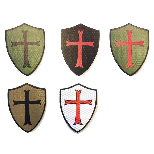 "CID IR / Infrarot Patch ""Crusader"" Shield - 6,7 x 5,5 cm"