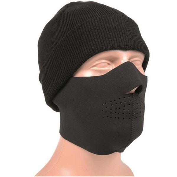 MIL-TEC Neopren Gesichtsschutz schwarz/wildwood