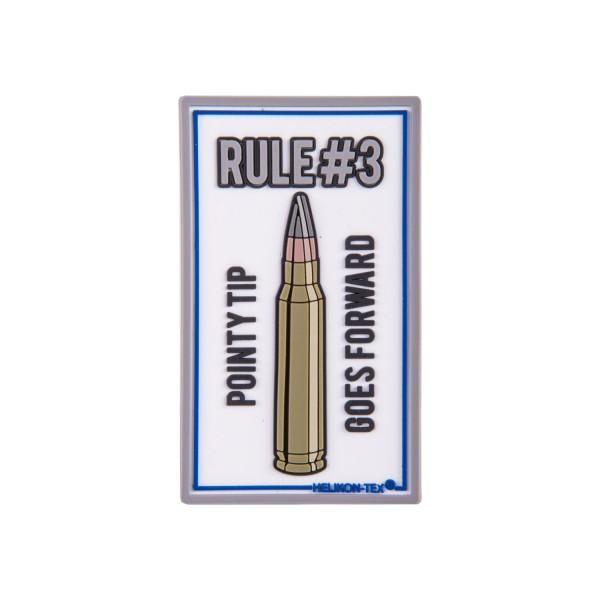 """Helikon Tex Rubberpatch """"Rule#3"""""""