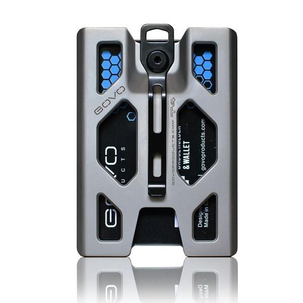 GOVO Titanium T4 Badge Holder Ausweishalter