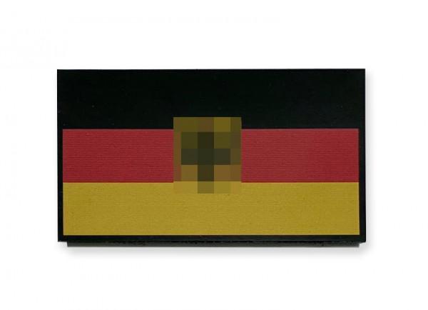 CID IR / Infrarot Patch Deutschland Flagge mit Bundesadler - 9 x 5 cm
