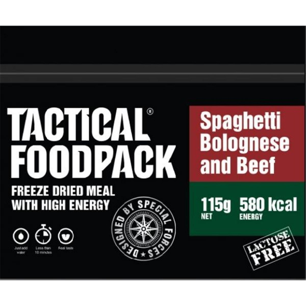 Tactical Foodpack Spaghetti Bolognese and Beef