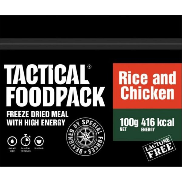 Tactical Foodpack Rice and Chicken Reis und Hühnchen