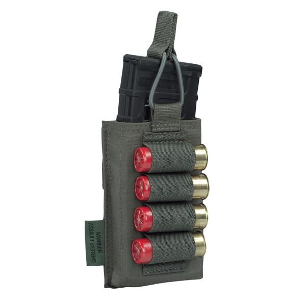 Warrior Assault Systems Single M4 & Shoot Gun Mag Pouch