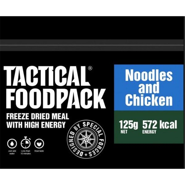 Tactical Foodpack Noodles and Chicken Nudeln mit Hühnchen