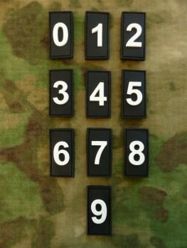JTG - Identification Patch, Zahl
