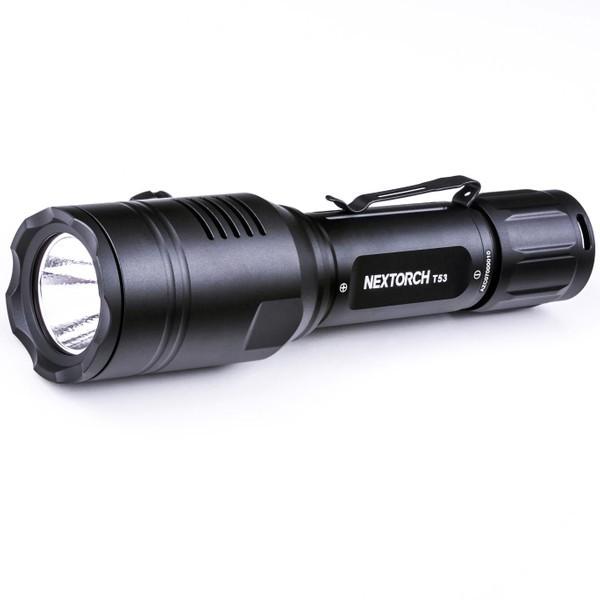 Nextorch T53 Set - Tri-Color LED Jagd- Taschenlampe inkl. Akku, Kabelfernbedienung, Universalhalter