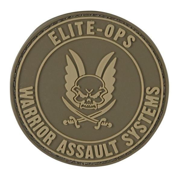 Warrior Assault Systems Rubber Patch Round Logo - Ø 6 cm