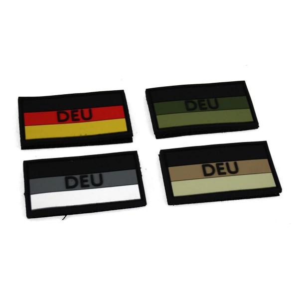 MRBS Rubber Patch Deutschland Flagge - 5,5 x 3 cm