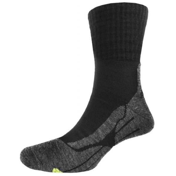P.A.C. Herren TR 6.0 Trekkingsocke Classic Wool schwarz