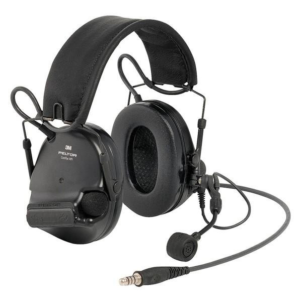 3M Peltor Comtac XPI Headset mit MT73 Mikrofon, Steckerbelegung: Peltor Standard