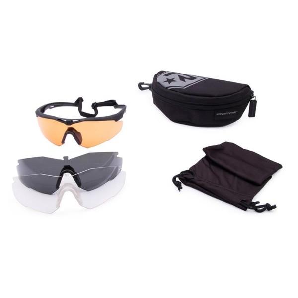 Revision ballistische Schutzbrille STINGERHAWK Deluxe Kit