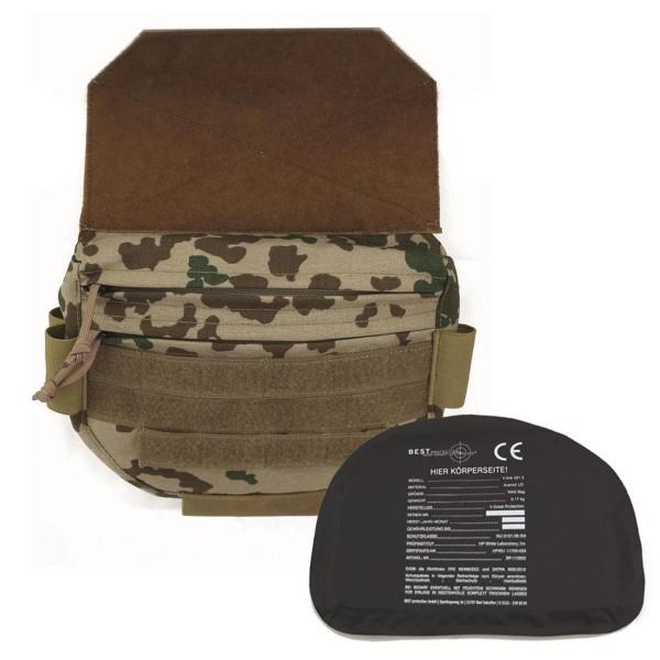 BP Drop Down Plate Carrier Pouch mit Weichballistik