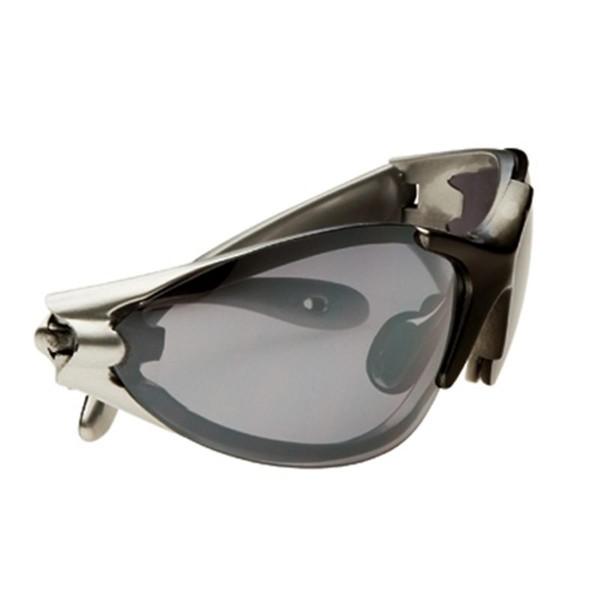 Swisseye Blizzard Silver Black Glas/Smoke