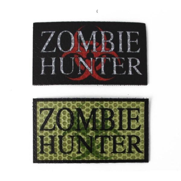 CID IR / Infrarot Patch Zombie Hunter - 9 x 5 cm