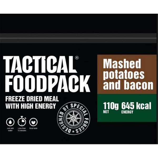 Tactical Foodpack Mashed Potatoes and Bacon Kartoffelpürree mit Speck