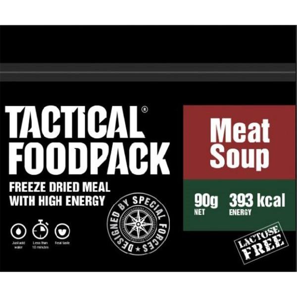 Tactical Foodpack Meat Soup Fleischbrühe