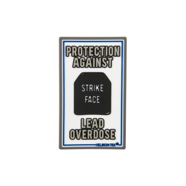 "Helikon Tex Rubberpatch ""Lead Overdose"" - 7,5 x 4,5 cm"