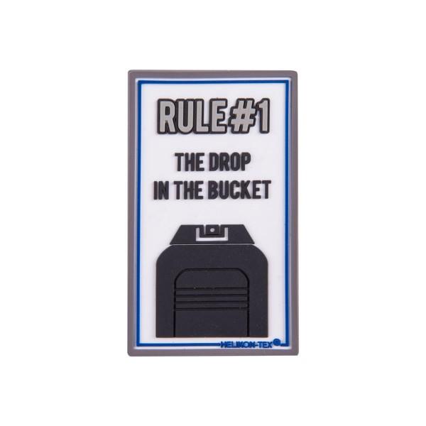"""Helikon Tex Rubberpatch """"Rule#1"""" - 7,5 x 4,5 cm"""
