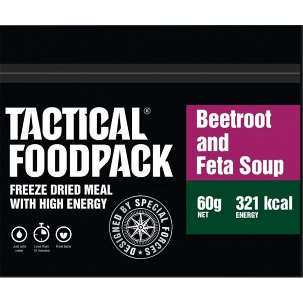 Tactical Foodpack Beetroot and Feta Soup Rote Beete mit Feta