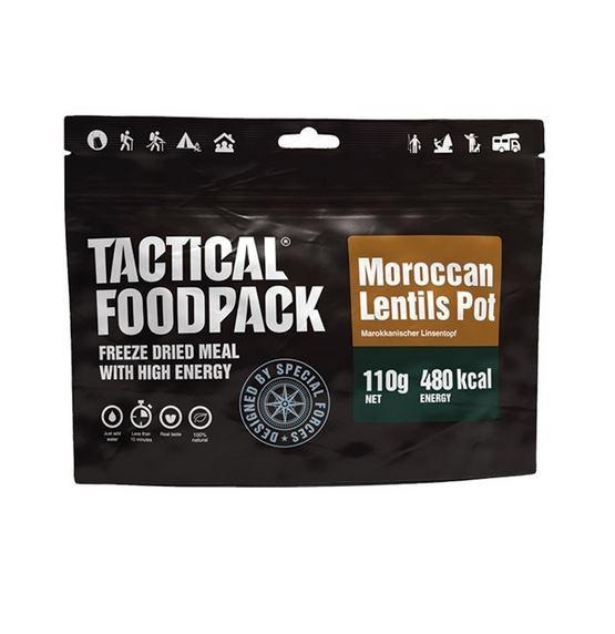 Tactical Foodpack Marrocan Lentils Pot