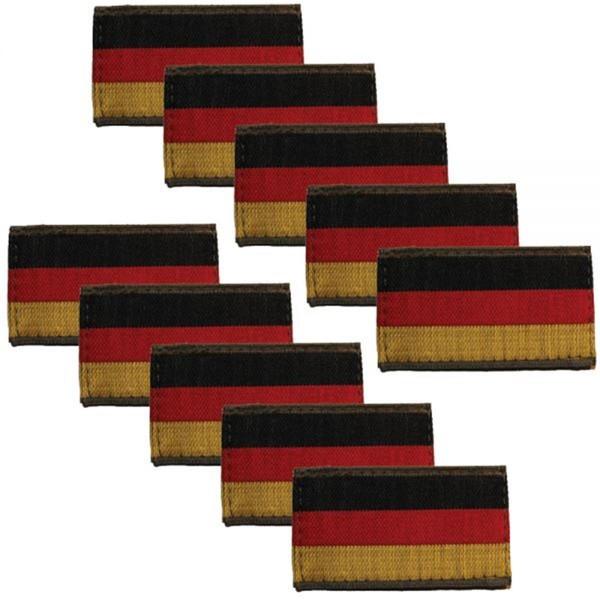BRD Nationalitätsabzeichen Patch gewebt - 5,5 x 3 cm