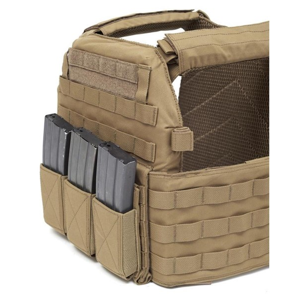 Warrior Assault Systems Triple Elastic Mag Pouch