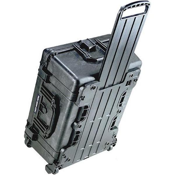 PELI Box 1610 schwarz mit Laufrollen