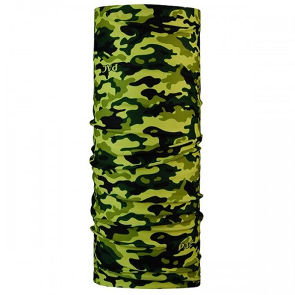 P.A.C. Multifunktionstuch Halstuch Camouflage schwarz/gelb