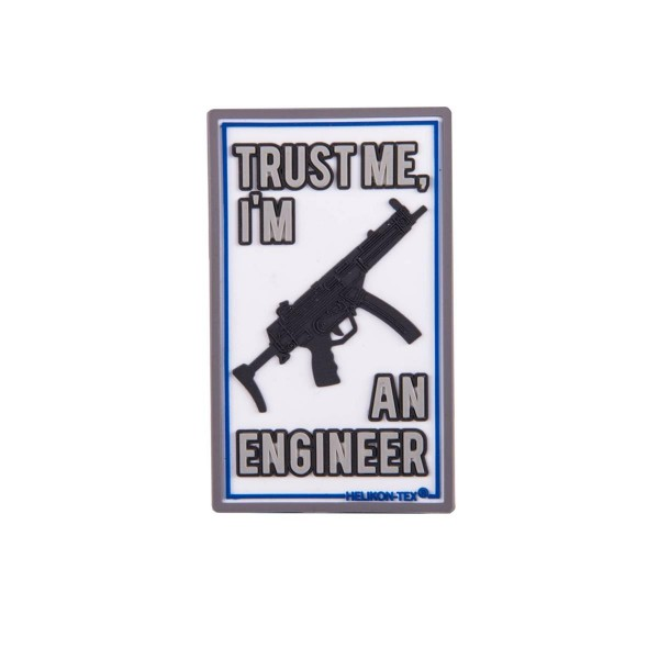 "Helikon Tex Patch ""Trust me I´m an engineer"" - 7,5 x 4,5 cm"