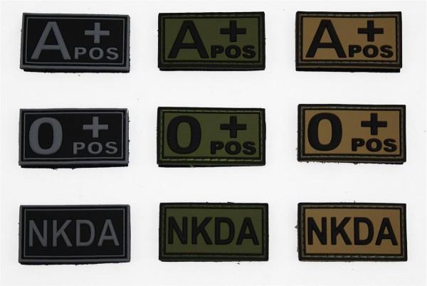 MRBS NKDA - No Known Drug Allergies - Patch - 5 x 2,6 cm