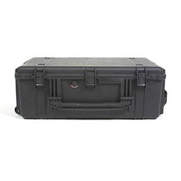 PELI Box 1650 schwarz mit Laufrollen