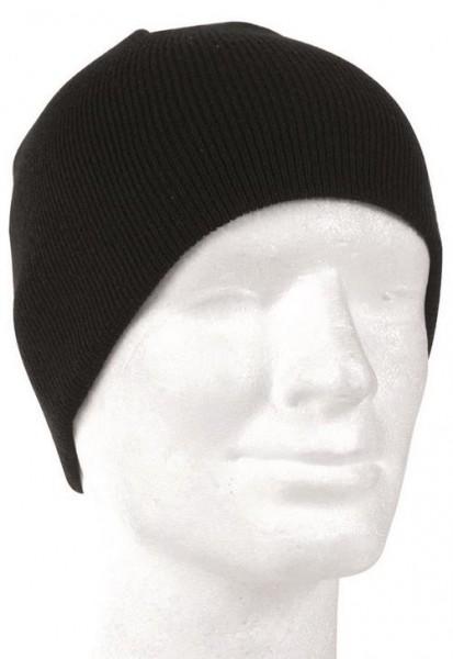 MIL-TEC Mütze Beanie schwarz