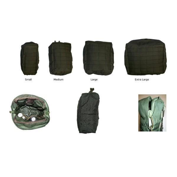 Zentauron Reißverschlusstasche Standard S-XL
