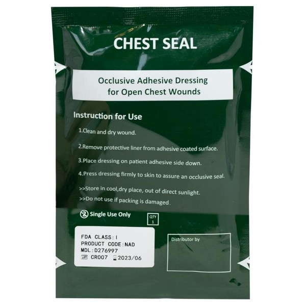 Rapid medical Chest Seal
