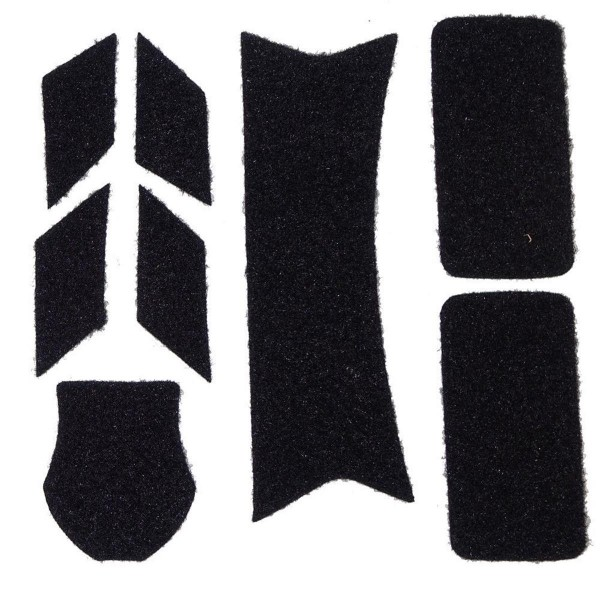 Helmpatches Flausch Set M5 für Gefechtshelme