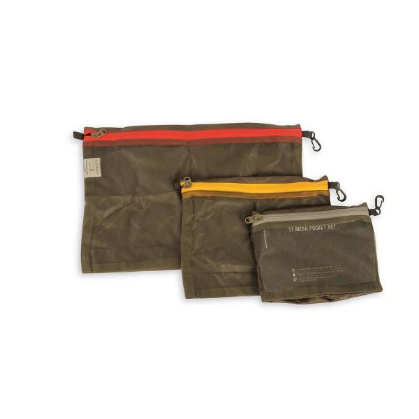 Tasmanian Tiger Mesh Pocket Set oliv