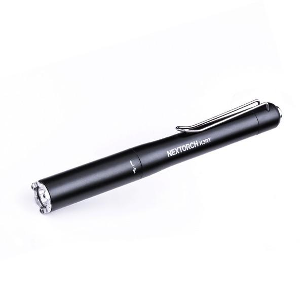 Nextorch K3RT - Penlight K3R 330 Lumen mit Nano-Keramik Glasbrecher USB-C inkl. Akku