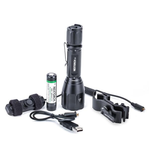 Nextorch Jagd Taschenlampe T7 Set mit 510 Metern Leuchtweite