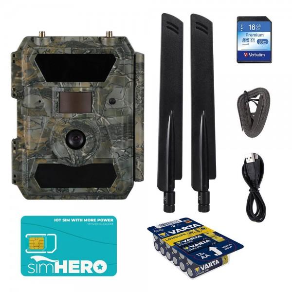 Wildagent LTE Wildkamera und Überwachungskamera